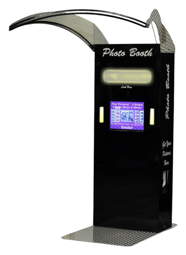 Stand up Style Photo booth rental CT