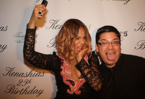 Ashanti Instagram Event Pic Captured by Insta Photobooth