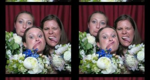 Flower Girls at Photo Booth NY