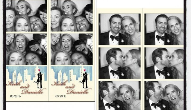 Photo Booth Rentals For Weddings – Keith & Danielle